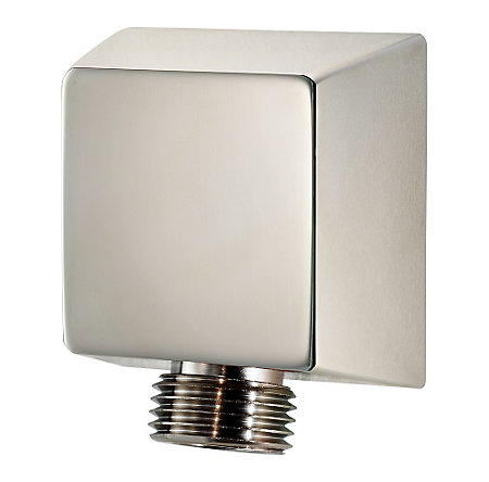 Polished Nickel Pfister Shower Drop Elbow - 016-17FD - 1