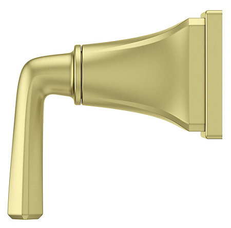 Brushed Gold Park Avenue Diverter Trim - 016-FE0BG - 2