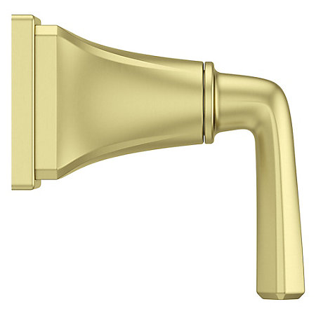 Brushed Gold Park Avenue Diverter Trim - 016-FE0BG - 3