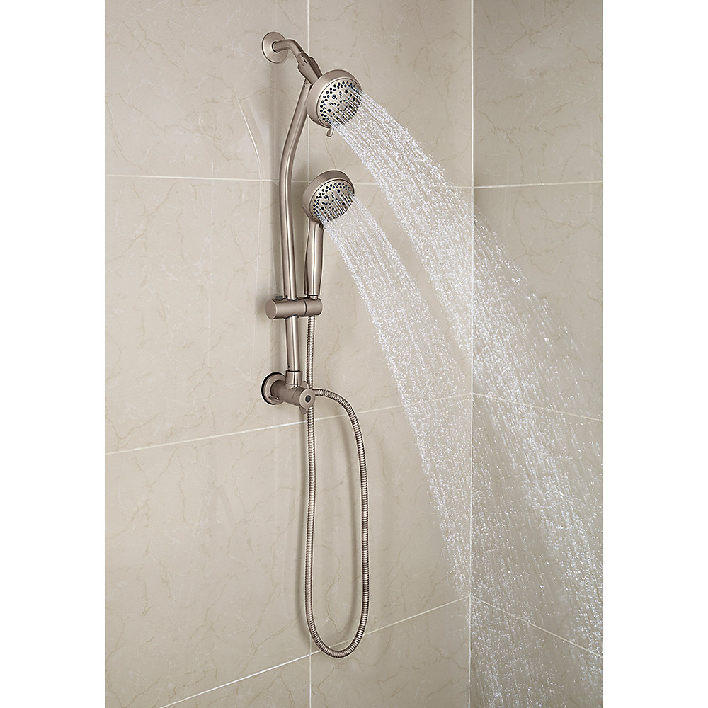 Brushed Nickel Pfister 8-Function Handheld Shower - 016-HH13K ...