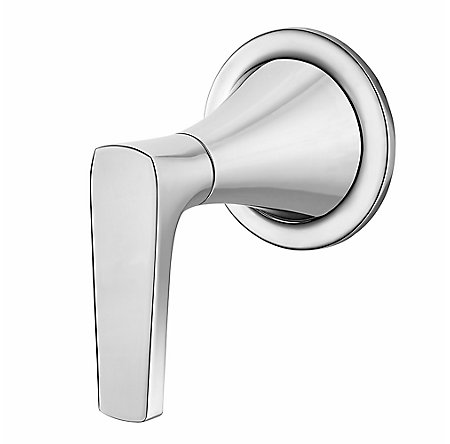Polished Chrome Kelen Diverter Handle - 016-MF1C - 1