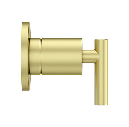 Brushed Gold Contempra Diverter Trim - 016-NC1BG - 4