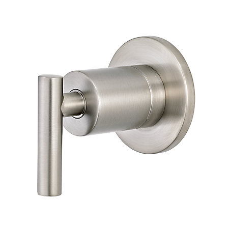 Brushed Nickel Contempra Diverter Trim - 016-NC1K - 1