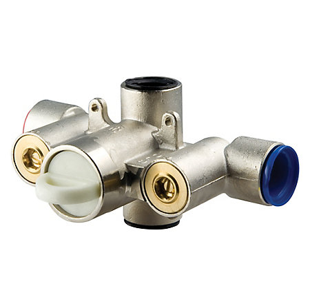 "Unfinished 3/4"" Thermostatic Valves - 0T8-410A - 1"