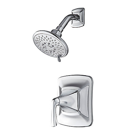 Polished Chrome Selia 1-Handle Shower Only Faucet  - 8P5-WSSLSC - 1