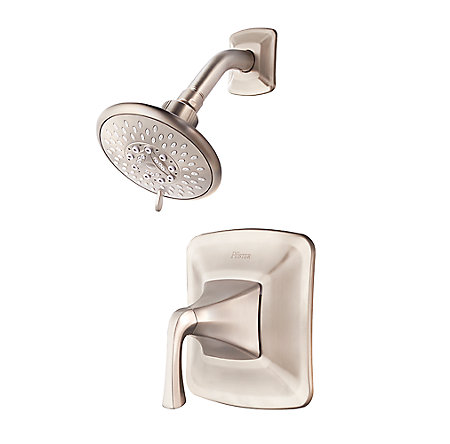 Brushed Nickel Selia 1-Handle Shower Only Faucet - 8P5-WSSLSK - 1