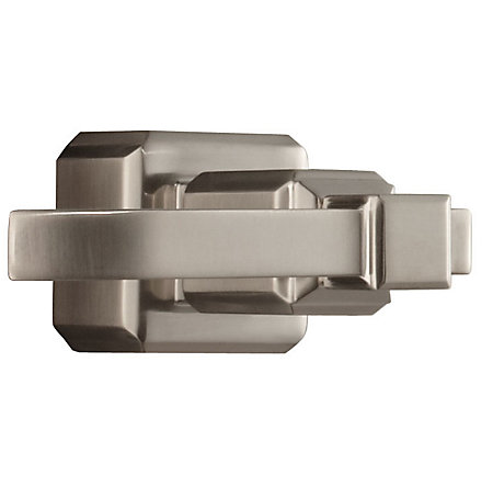Brushed Nickel Carnegie Tub and Shower Handle - 940-165J - 1
