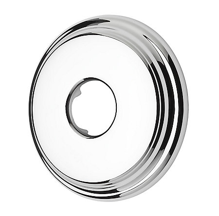 Polished Chrome Marielle Shower Arm Flange - 960-039A - 1