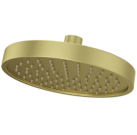 Brushed Gold Contempra Showerheads - 973241BG - 1
