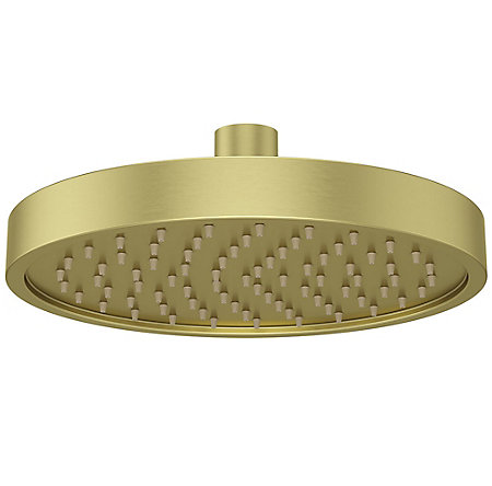 Brushed Gold Contempra Showerheads - 973241BG - 2