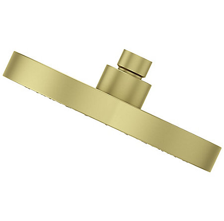 Brushed Gold Contempra Showerheads - 973241BG - 4