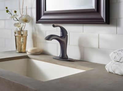 Elden Single Control, Centerset Bath Faucet
