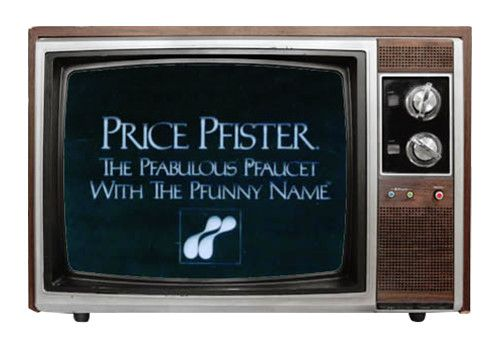 Pfister TV advertising campaign