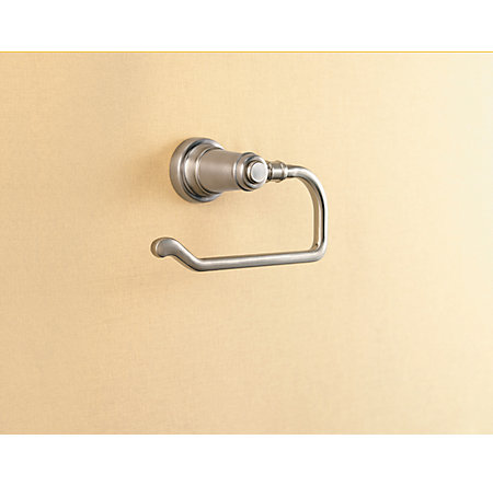 Brushed Nickel Ashfield Tissue Holder - BPH-YP1K - 2
