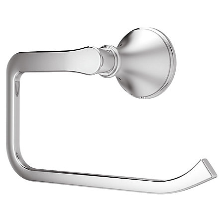 Polished Chrome Auden Towel Ring - BRB-AD0C - 1