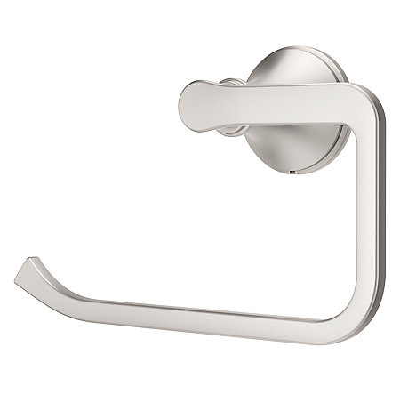 Spot Defense Brushed Nickel Auden Towel Ring - BRB-AD0GS - 1