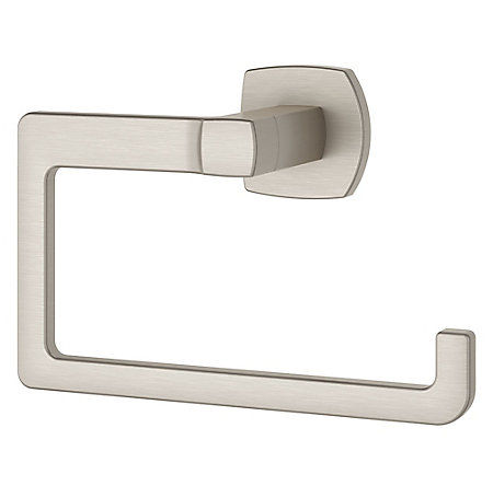 Brushed Nickel Deckard Towel Ring - BRB-DA1K - 1