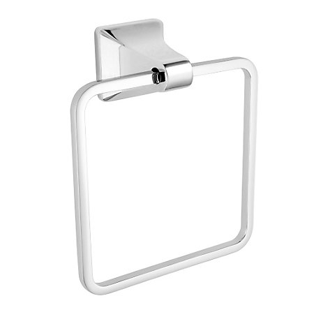 Polished Chrome Park Avenue Towel Ring - BRB-FE1C - 1
