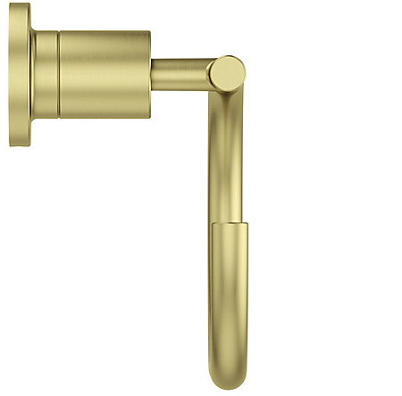 Brushed Gold Contempra Towel Ring - BRB-NC1BG - 4