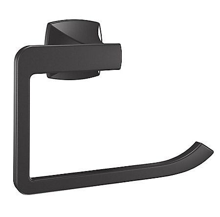 Black Venturi Towel Ring - BRB-VN0B - 2