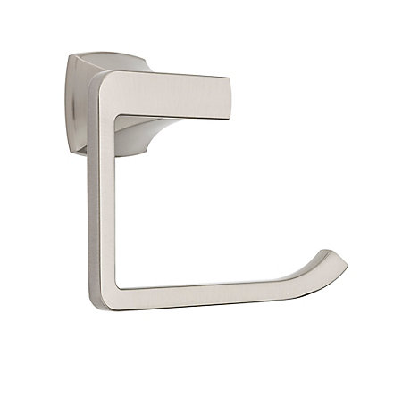 Brushed Nickel Venturi Towel Ring - BRB-VN0K - 2