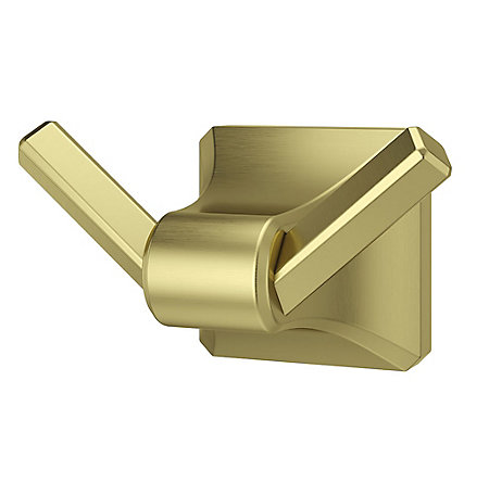 Brushed Gold Park Avenue Robe Hook - BRH-FE1BG - 1