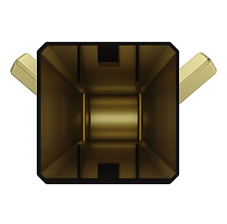 Brushed Gold Park Avenue Robe Hook - BRH-FE1BG - 4