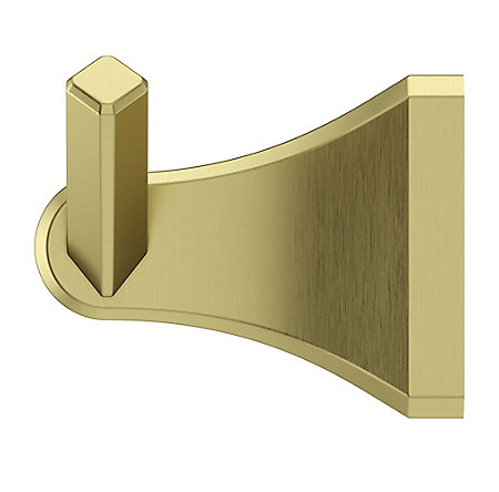Brushed Gold Park Avenue Robe Hook - BRH-FE1BG - 5