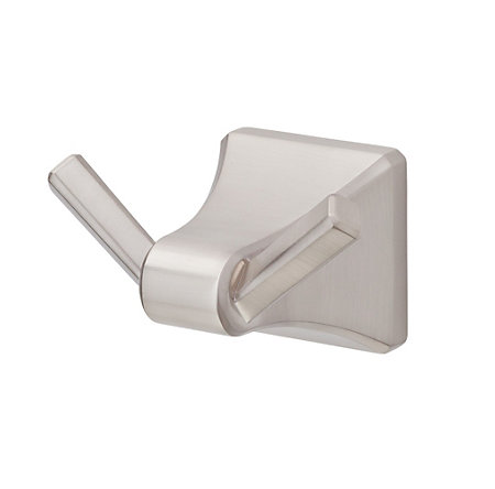 Brushed Nickel Park Avenue Robe Hook - BRH-FE1K - 1