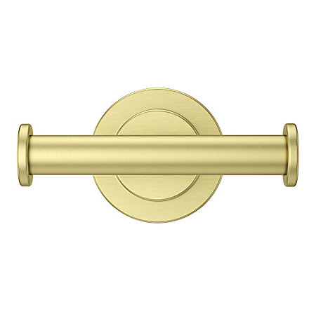 Brushed Gold Contempra Robe Hook - BRH-NC1BG - 2