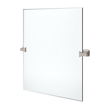 Spot Defense Brushed Nickel Venturi Vanity Mirror - BVM-VN0GS - 1