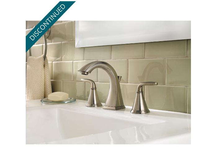 Click The Above Image To Zoom Backward Brushed Nickel Pasadena Widespread Bath Faucet