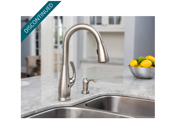 Stainless Steel Selia Touch-Free Pull-Down Kitchen Faucet With ...