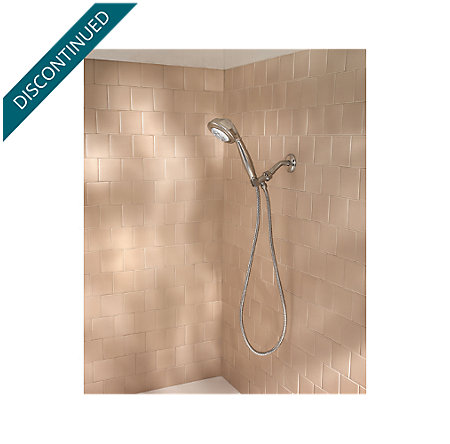 Brushed Nickel Sedona Handheld Showers - 016-LT0K - 3