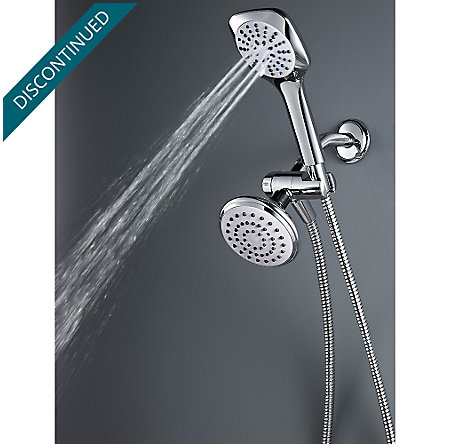 Polished Chrome Kaylon Handshower and Showerhead Combo - 020-WHCH - 3