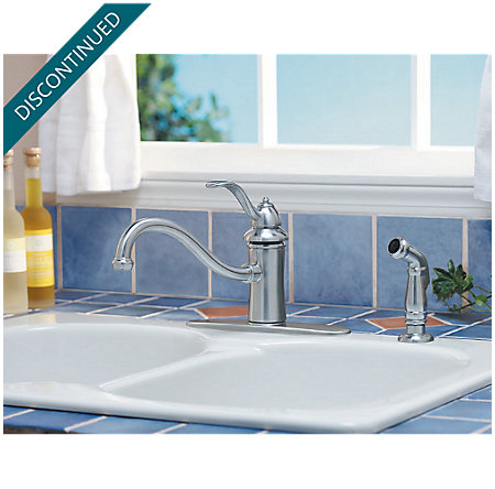 Stainless Steel Marielle 1-Handle Kitchen Faucet - 034-4TSS - 3