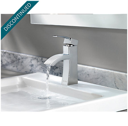 Polished Chrome Bernini Single Control, Centerset Bath Faucet - 042-BNCC - 5