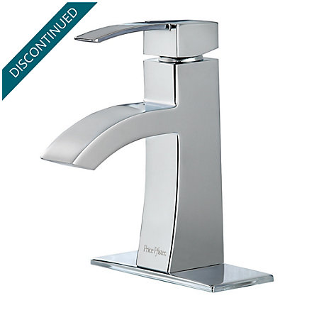 Polished Chrome Bernini Single Control, Centerset Bath Faucet - 042-BNCC - 1