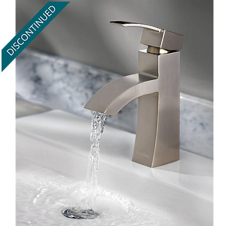 Brushed Nickel Bernini Single Control, Centerset Bath Faucet - 042-BNKK - 6