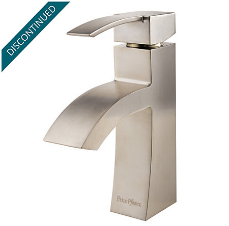 Brushed Nickel Bernini Single Control, Centerset Bath Faucet - 042-BNKK - 1