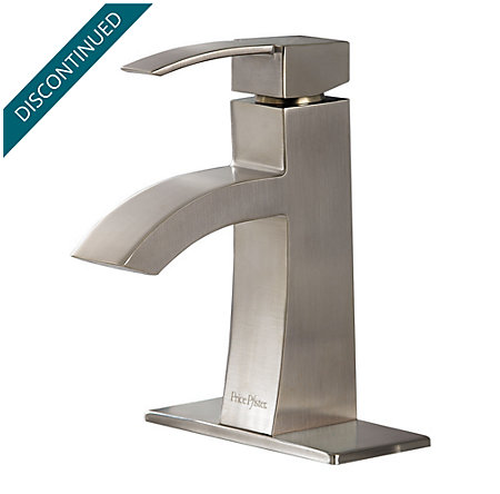 Brushed Nickel Bernini Single Control, Centerset Bath Faucet - 042-BNKK - 2