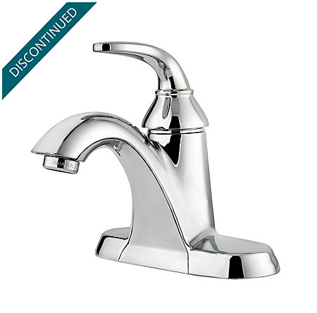 Polished Chrome Pasadena Single Control, Centerset Bath Faucet - F-042-PDCC - 1