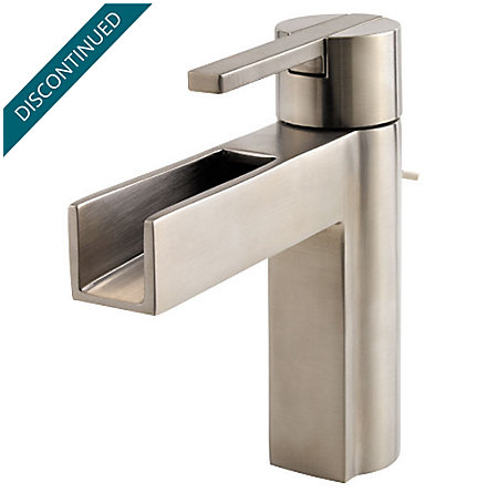 Brushed Nickel Vega Single Control, Centerset Bath Faucet - 042-VGKK - 1