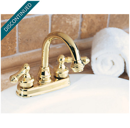 Polished Brass Savannah Centerset Bath Faucet - 043-H0XP - 3