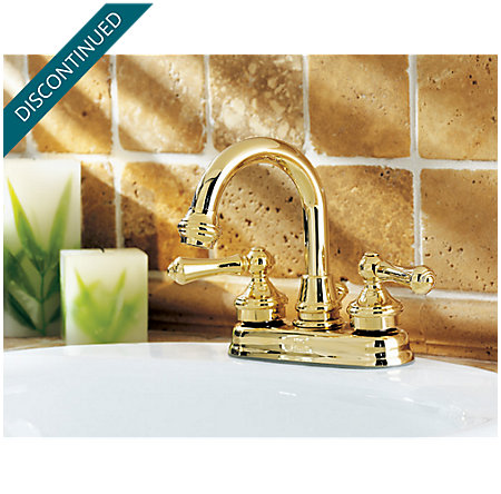 Polished Brass Savannah Centerset Bath Faucet - 043-H0XP - 4