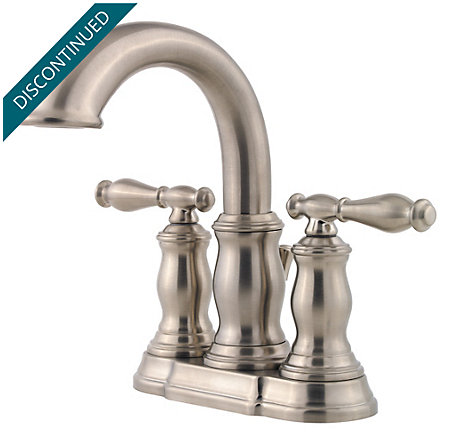 Brushed Nickel Hanover Centerset Bath Faucet - 043-TMKK - 1