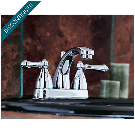 Polished Chrome Parisa Centerset Bath Faucet - 048-A0XC - 5