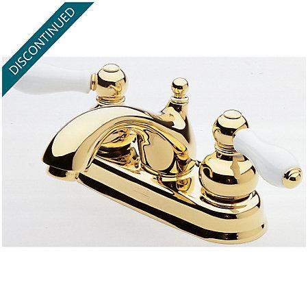 Polished Brass Georgetown Centerset Bath Faucet 048 B0xp