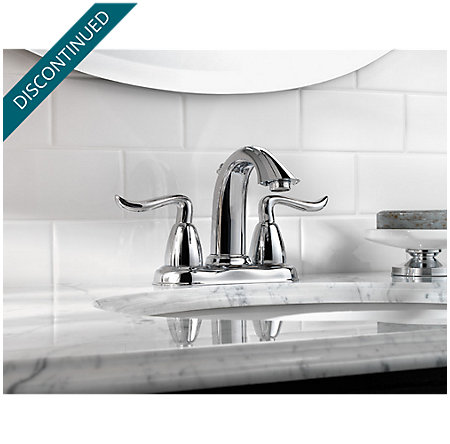 Polished Chrome Santiago Centerset Bath Faucet - 048-ST0C - 2