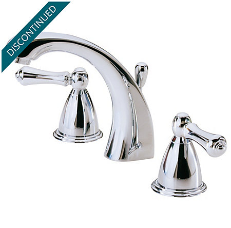 Polished Chrome Parisa Widespread Bath Faucet - 049-A0XC - 2
